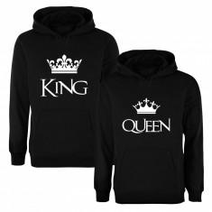 Set de hanorace pentru cupluri King/Queen COD SH103 - Tricou dama