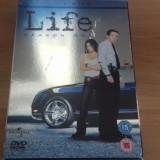 LIFE - Season One - 11 Ep - DVD [B] - Film serial, Politist, Engleza