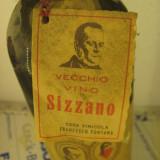 N. 43 vin VECCHIO VIN SIZZANO, DOC, recoltare 1966, cl 72 gr 12, 5 STICLA 116691 - Vinde Colectie, Aroma: Sec, Sortiment: Rosu, Zona: Europa