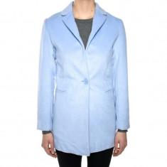 Sacou Lana Lung C&A Helga Light Blue - Sacou dama, Marime: S, M, XL, Culoare: Albastru