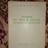 Itinerr de arta si folclor din nordul Moldovei an 1964/106pag