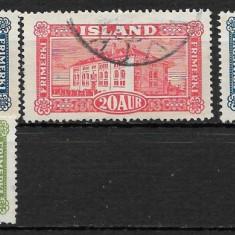 Islanda 1925 serie deparaiata, Stampilat