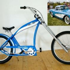 Bicicleta chopper Felt Squealer - ultimul model - 3 vit. Shimano Nexus