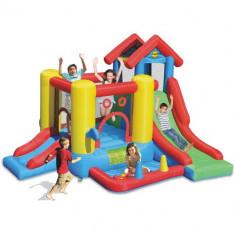 Saltea Gonflabila Play Center 7 in 1 Happy Hop