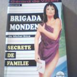 Michel Brice - SECRETE DE FAMILIE { seria BRIGADA MONDENA } / 2004 - Carte politiste