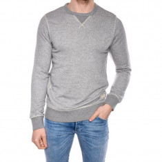 Bluza Bumbac Jack&Jones Recycle Basic Crew Neck Gri