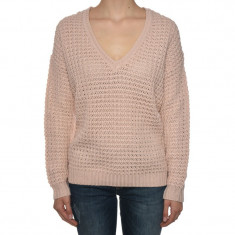 Pulover Vila Videxly V-neck Knit Top Rose Smoke