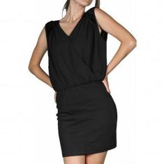 Rochie Vero Moda Delicious Short Black - Rochie de seara Vero Moda, Marime: L, Culoare: Negru