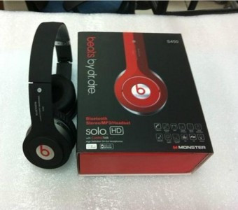 Casti Bluetooth Stereo Monster Beats By Dr Dre HD Solo S450 Foto