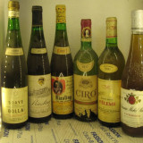 6 sticle vin -VECHI DE COLECTIE - LOT. ( alb 2 )recoltare 1968/74/75/77/81/1990 - Vinde Colectie, Aroma: Sec, Zona: Europa