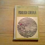 PSIHOLOGIE GENERALA - Paul popescu-Neveanu - Editura Didactica, 1968, 266 p. - Carte Psihologie