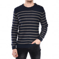 Pulover Barbati Jack&Jones Sailor Crew Neck Oatmeal