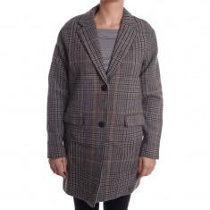 Palton Lana Only Karoline Check - Palton dama Only, Marime: S, Culoare: Gri
