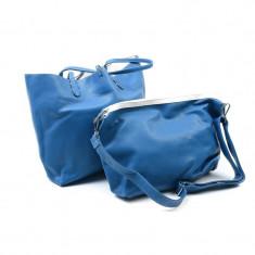 Geanta Dama Charmant D-88542 Albastru