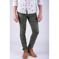 Pantaloni Lungi Bumbac Alcott Cornelio Slim Fit Kaki