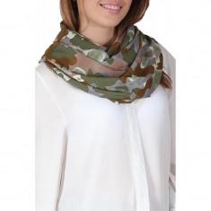 Esarfa Dama Pieces Kalam Must Tube Kaki - Esarfa, Sal Dama