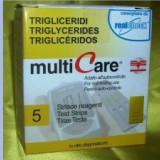 Teste trigliceride Multicare GCT 5's - Glucometru