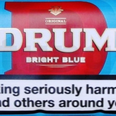 Tutun pentru rulat Drum Bright Blue-light-- 100 grame -tutun Bucuresti-