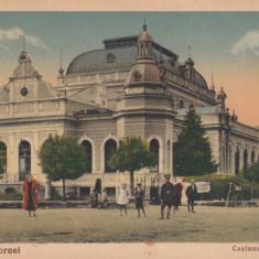 VATRA DORNEI BUCOVINA CASINOUL BALNEAR NECIRCULATA - Carte Postala Bucovina dupa 1918, Printata