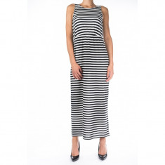Rochie Bumbac Only Addison Whisper White Black Stripes - Rochie de seara Only, Marime: S, Culoare: Negru