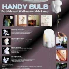 Handy Bulb bec fara fir cu intrerupator - Gazon natural