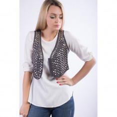 Vesta Vascoza Friendtex With Sequins Dark Grey