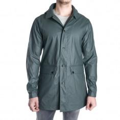 Geaca Impermeabila Toamna Jack&Jones Raymond Rain Coat Verde Inchis