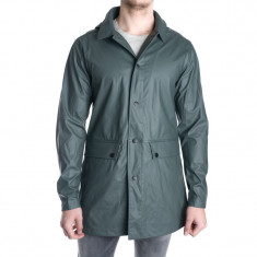 Geaca Impermeabila Toamna Jack&Jones Raymond Rain Coat Verde Inchis - Geaca barbati Jack & Jones, Marime: L, Culoare: Khaki