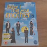 How i met your mother - Season 5- 24 Ep- DVD [B] - Film serial, Comedie, Engleza