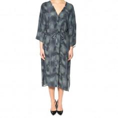 Kimono Lung Vascoza Only Stuace 3/4 Shirt Deep Weel - Trench dama Only, Marime: 38, Culoare: Bleumarin