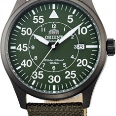 Rient FER2A007F Men's Flight Collection Fabric Band Pilot Automatic Watch Produs la comanda [TEST TE - Ceas barbatesc Orient