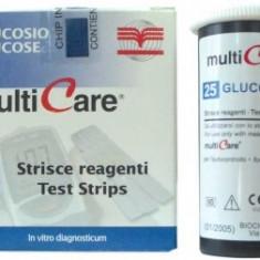 Teste glicemie Multicare GCT