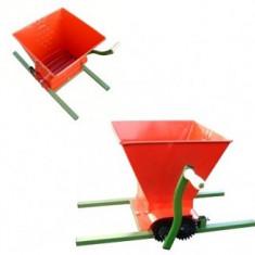 Zdrobitor de struguri cu tamburi reglabili, 25Litri - Zdrobitor struguri