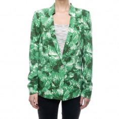 Sacou Vero Moda Ferna Just Now Verde - Sacou dama Vero Moda, Marime: 36, 38, 40