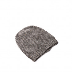 Caciula Dama Only Onlsherry Knit Hood Deep Taupe, Culoare: Gri