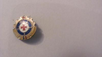 "PVM - Insigna ""Gata Pentru Apararea Sanitara / GPAS"" foto"