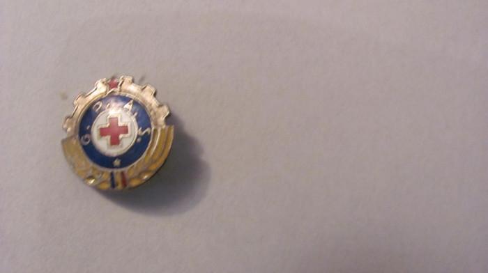 "PVM - Insigna ""Gata Pentru Apararea Sanitara / GPAS"""