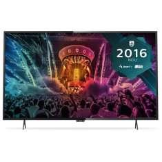 Televizor LED Philips 43PUH6101/88, 43 inch, 3840x2160 px, 4 K UltraHD, Ultra Slim, Smart TV