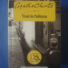 AGATHA CHRISTIE - TRENUL DIN PADDINGTON - Carte politiste, Litera