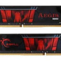 Memorie G.Skill Memorie F4-3000C16D-16GISB, D4, 3000 MHz, 16GB, C16 GSkill Aegis K2 - Memorie RAM