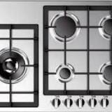 Plita Studio Casa incorporabila gaz Largo LG70 4F1C3 35 AS/TC X, 5 arzatoare, inox