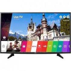 Televizor LED LG LG 49UH6107, 123 cm, 49UH6107, 4K Ultra HD, negru