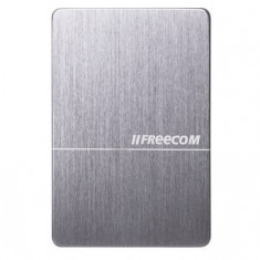 Hard disk extern Freecom Slim Mobile Drive, 1 TB, 2.5 inch, USB 3.0 - HDD extern