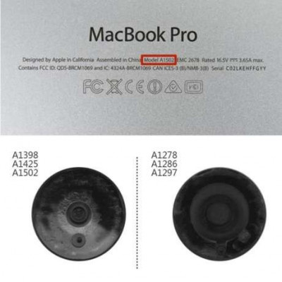 Picioruse / Capacele / Skates MacBook Pro Retina pret/bucata foto