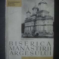 EMIL LĂZĂRESCU - BISERICA MĂNĂSTIRII ARGEȘULUI, Litera