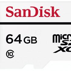 Card memorie SanDisk micro SD, 64 GB, clasa 10 - Multimedia card