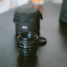 Nikon AF Nikkor 50mm f/1.8D - Obiectiv DSLR