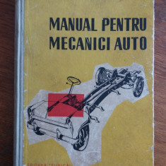 Manual pentru mecanici auto / C48P, Alta editura