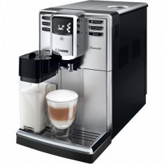 Espressor SAECO Espressor Saeco Incanto HD8917/09, 1850W, 15 bar, 1.8l, recipient lapte 0.5l, Negru/Argintiu