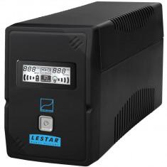LESTAR SIN-830Es Sinus LCD 2xSCH BL, 800VA, 480W - UPS